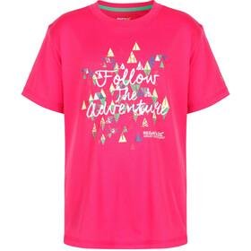 Regatta Alvarado III T-Shirt Kids Hot Pink